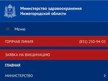 Занимаем очередь. В Нижегородской области открыта запись на вакцинацию от COVID