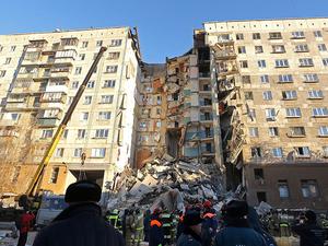 Глава Магнитогорска поставил точку в вопросе причин взрыва дома на Карла Маркса