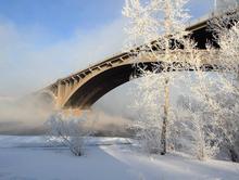 Красноярск ждут 45-градусные морозы