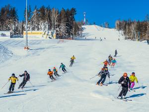 «Жара» на горнолыжках: как южноуральцы провели зимние каникулы?