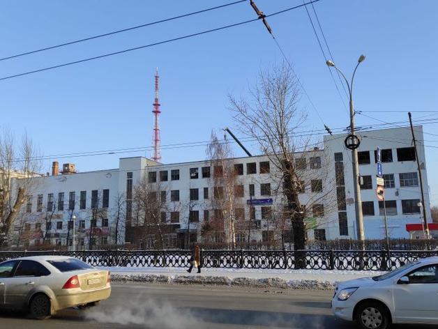 Здание ПРОМЭКТа до сноса