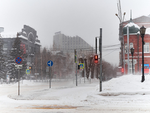 В Новосибирске дефицит машин для уборки снега