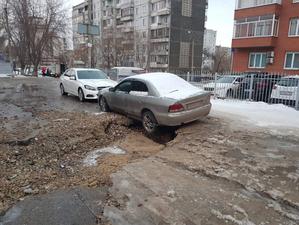 Причиной коммунальной аварии на Менжинского стала январская оттепель
