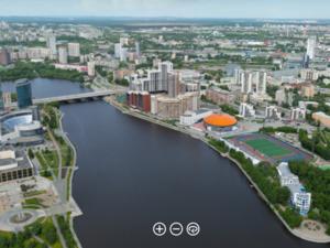 Мегаполис в деталях: в Екатеринбурге представили гигантскую панораму города