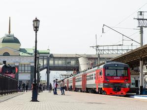 Поезда КрасЖД перевезли за год на четверть меньше пассажиров