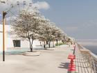 Полгода и 50 млн: стали известны детали проекта благоустройства набережной у «Мегаполиса»
