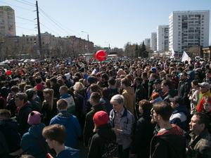 Сторонники Навального пройдут маршем по главной улице Челябинска