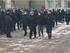 Полиция разгоняет несанкционированный митинг возле мэрии Красноярска