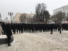 В Нижнем Новгороде на акции в поддержку Алексея Навального задержаны более 30 человек