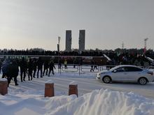 Новая акция в поддержку Навального в Челябинске начнется у памятника Курчатову