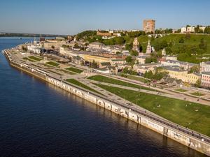 Проезд под Чкаловской лестницей в Нижнем Новгороде перекроют на полгода