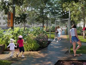 Велосипедная дорожка, скульптуры птиц и парковка: в центре Челябинска появится сквер