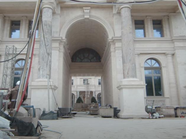 Голый бетон и строящаяся аквадискотека: первое видео из недоделанного «дворца Путина»
