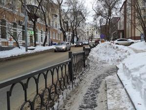 В Екатеринбурге придумали способ бороться со снежными завалами на дорогах