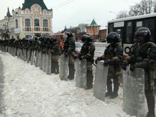 Перекрытая площадь и массовые задержания. Как проходит акция в поддержку Навального