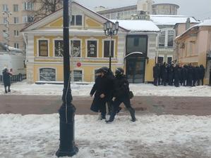 МВД: в Нижнем Новгороде на митинг 31 января пришли 500 человек. Задержаны больше половины