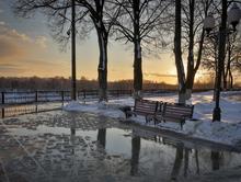 В конце неделе морозы в Красноярске сменит плюсовая температура