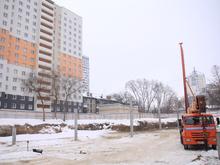 «Вначале заселятся волонтеры Универсиады». Во Втузгородке строят новое общежитие УрФУ