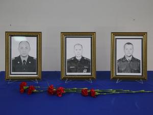 Погибших красноярских пожарных посмертно наградили орденами