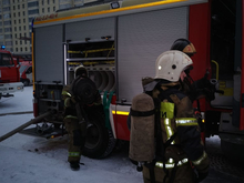 В Екатеринбурге загорелась 23-этажная высотка