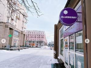 В Челябинске закрылась первая точка «кофе навынос» Blueberry