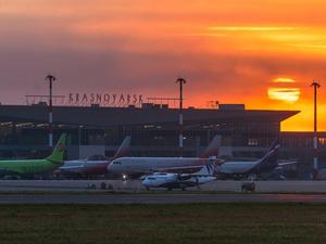 Аэропорт Красноярск выиграл национальную авиапремию России