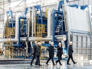 Руководители Сбербанка посетили индустриальный парк «Станкомаш»