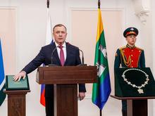 C митрополитом и губернатором. В мэрии Екатеринбурга прошла инаугурация Алексея Орлова