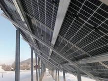 Строительство солнечной электростанции в Туре почти завершено