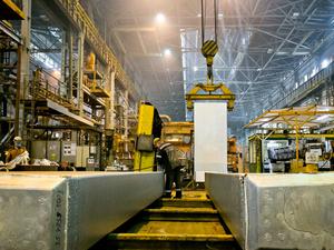 Красноярский алюминиевый завод развивает выпуск сплавов
