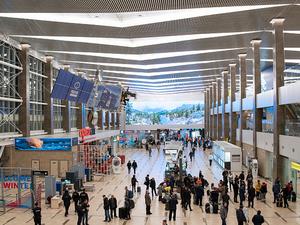 Пассажиропоток аэропорта Красноярск на треть отстал от прошлого года