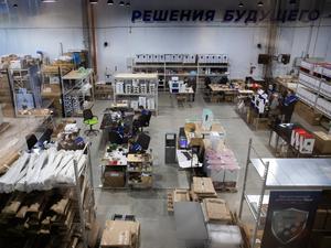 На Урале открылся завод по производству «умных» бесконтактных дезинфекторов