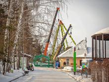 50-метровое колесо обозрения появится на правом берегу Красноярска