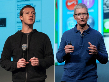 Тим Кук и Марк Цукерберг публично нападают друг на друга. Чем грозит конфликт корпораций