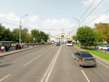«Решения еще нет» — мэрия Красноярска пояснила планы изменения движения на Аэровокзальной