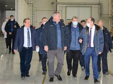 Глава Роскосмоса Дмитрий Рогозин побывал в Красноярске и Железногорске