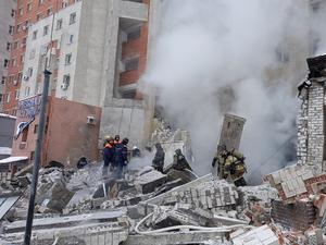 МЧС: в результате взрыва на Мещерском бульваре пострадали три человека
