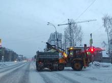 В Екатеринбурге все-таки используют передовой опыт борьбы со снегом
