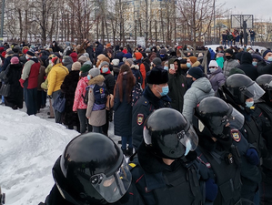 ФСБ насчитала на январских митингах 90 тыс. участников — в разы больше официальных оценок