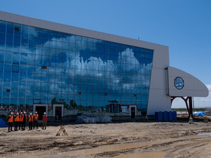Аэропорт в Южно-Сахалинске будет достраивать красноярская компания