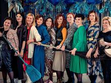 Что делали бизнес-леди на «весеннем шабаше» (ФОТО ВИДЕО)