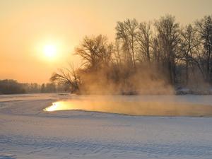 Снова по-зимнему холодно станет в Новосибирске