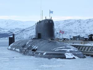 Атомная подводная лодка «Красноярск» сойдет на воду в августе