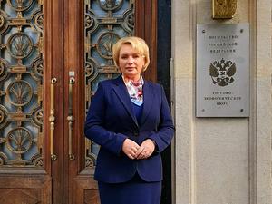 Экс-глава департамента из Нижегородской области назначена торговым представителем РФ