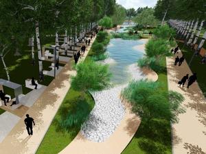 «Собачий» парк на Ясной благоустроят для людей. Каким он будет — рендеры
