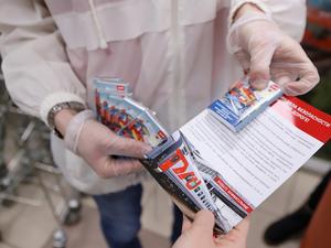 Акция по безопасности на железной дороге впервые прошла в супермаркетах Красноярска