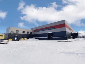 Новый склад класса В+ сдан в Новосибирске