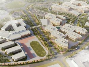 Для студентов и лицеистов. Архитекторы показали эскизы будущего кампуса УрФУ