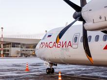 «КрасАвиа» полетит из Красноярска в еще три сибирских города