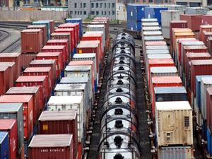 Внутрироссийские перевозки грузов контейнерами по КрасЖД выросли более чем вдвое